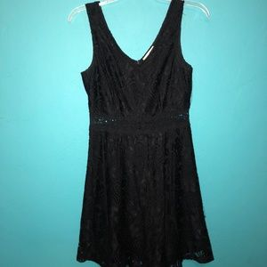 Altar'd State Black Lace Dress